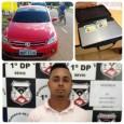 Nesta quinta-feira, 02.06, a Polícia Civil, através da 1ª Delegacia de Polícia da capital, efetuou a prisão de investigado por furtos de objetos no interior de veículos. D.N.S.R. é suspeito...