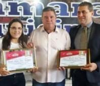 Na última segunda-feira (12/12), a Câmara Municipal de Nova Brasilândia D' Oeste em sua 41ª Sessão Ordinária, realizou uma homenagem ao Delegado de Polícia, Dr. Alexandre Borges Bacarine e o...