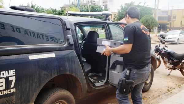 """A Polícia Civil do Estado de Rondônia deflagrou na manhã desta sexta-feira (17/02), a operação denominada """"Floresta Nativa"""" contra servidores da Secretaria de Estado do Desenvolvimento Ambiental (SEDAM), em Vilhena...."""