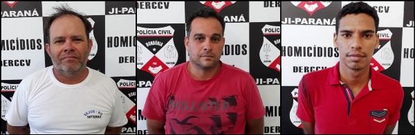 A Polícia Civil do Estado de Rondônia, por meio da Delegacia Especializada em Crimes Contra a Vida (Delegacia de Homicídio) em Ji-Paraná, prendeu nesta quinta-feira (24/05), três indivíduos acusados pela...