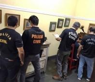 """A Polícia Civil do Estado de Rondônia em ação conjunta com o Ministério da Segurança Pública, deflagrou na manhã desta quinta-feira (17/05), a """"Operação Luz na Infância 2″, que visa..."""