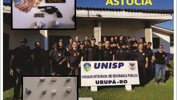 """A Polícia Civil do Estado de Rondônia, por meio da Delegacia em Urupá, deflagrou nesta quinta-feira (24/05), a operação denominada """"Astúcia"""" com objetivo de desarticular uma Organização Criminosa na região..."""