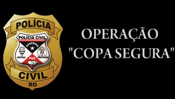 """A Polícia Civil do Estado de Rondônia, por meio da Delegacia Especializada em Apuração de Atos Infracionais (DEAAI), deflagrou na manhã desta quinta-feira (14/06), a operação denominada """"Copa Segura"""". De..."""