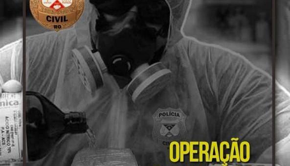 A Polícia realizou o cumprimento de 09 (nove) mandados de prisão preventiva e 05 (cinco) de busca e apreensão nesta manhã. A Polícia Civil do estado de Rondônia, por meio...