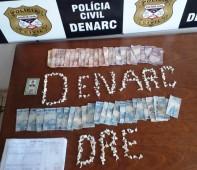 A Polícia Civil do estado de Rondônia, por meio do Departamento de Narcóticos (Denarc), apreendeu nesta segunda-feira (10/06), quase 200 invólucros de entorpecentes tipo cocaína. Na oportunidade, a equipe do...
