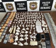 A Polícia Civil do estado de Rondônia, por meio do Departamento de Narcóticos (Denarc), promoveu a prisão de 17 pessoas acusadas pelo crime de tráfico de drogas e fechou 13...