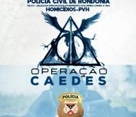A Polícia Judiciária Civil do Estado de Rondônia, por meio da Delegacia de Homicídios – DECCV, deflagrou, na manhã desta terça-feira (04), em Porto Velho, a Operação Caedes. O objetivo...