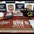 Na tarde desta quinta-feira(02/07), investigadores do Departamento de Narcóticos – DENARC prenderam dois suspeitos com 3KG de maconha, uma balança de precisão, várias invólucros de cocaína e pedra oxi, além...